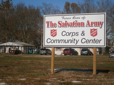 Salvatoin Army sign