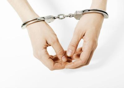 handcuffswoman