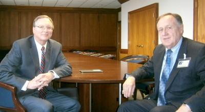 Doug Rahn and Chet Wynn