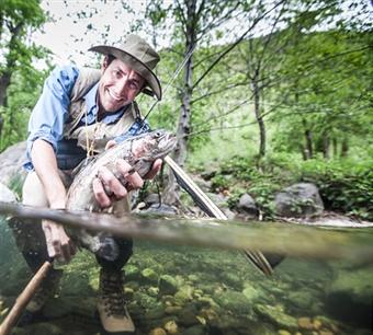 Trout fishing season kicks off in illinois wlds for Trout fishing illinois