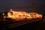 The Holiday Express at an unknown location.KCS has the usage rights.Photographer is either Paul Hoge or David Hoge at davidhoge@mac.com.His address is:1916 AnnistonShreveport, LA, 71105  Photographer, Holiday Express, Image rights, Unlimited use,